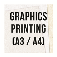 Graphics Printing (A3/A4)