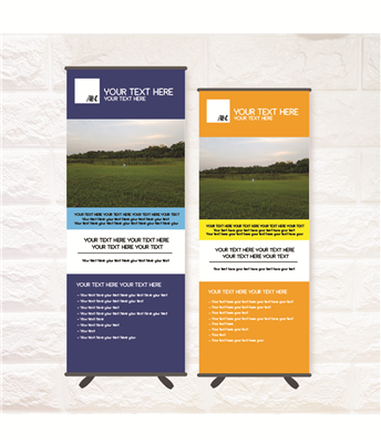 Pull Up / Roll Up Banner