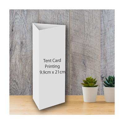 Tent Cards (3-sided)