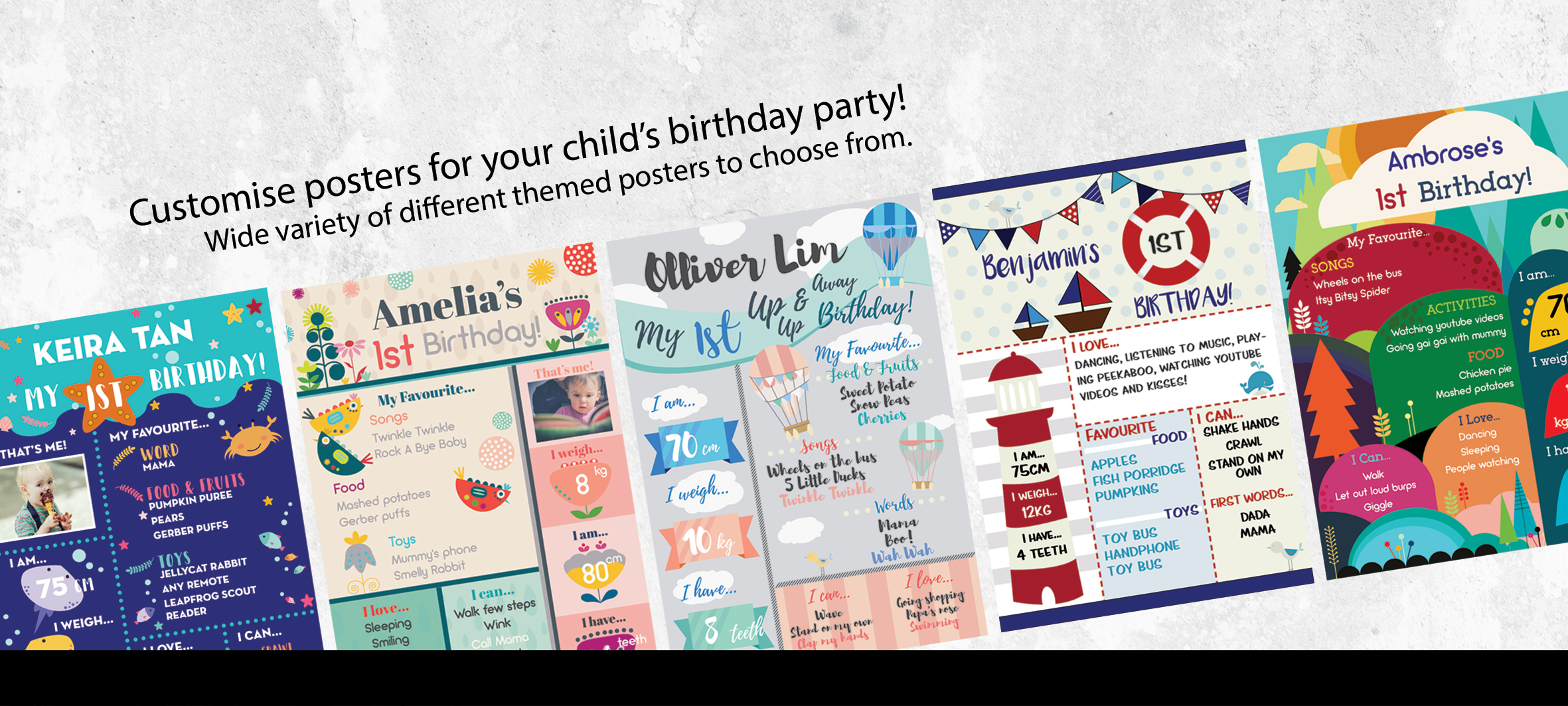Poster for birthday with your own hands: original ideas