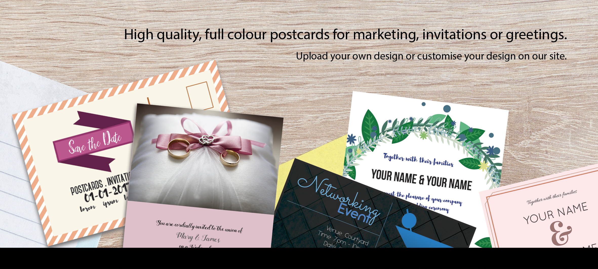 Tampines printing services postcards printing services quality for urgent postcards in small quantities 10pcs 50pcs please bring artwork in usb thumb drive to the print counter we will advise how best to print it reheart Image collections